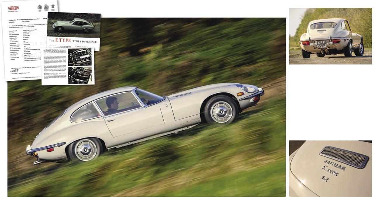 Road test six-cylinder Jaguar E-type 4.2-litre Series 3 2+2