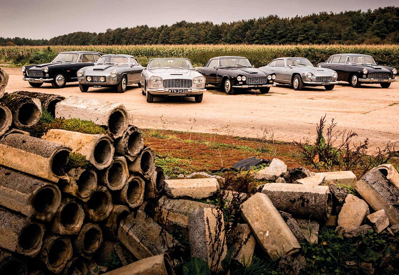 Lancia Flaminia family, from unassuming Berlina to exotic Super Sport