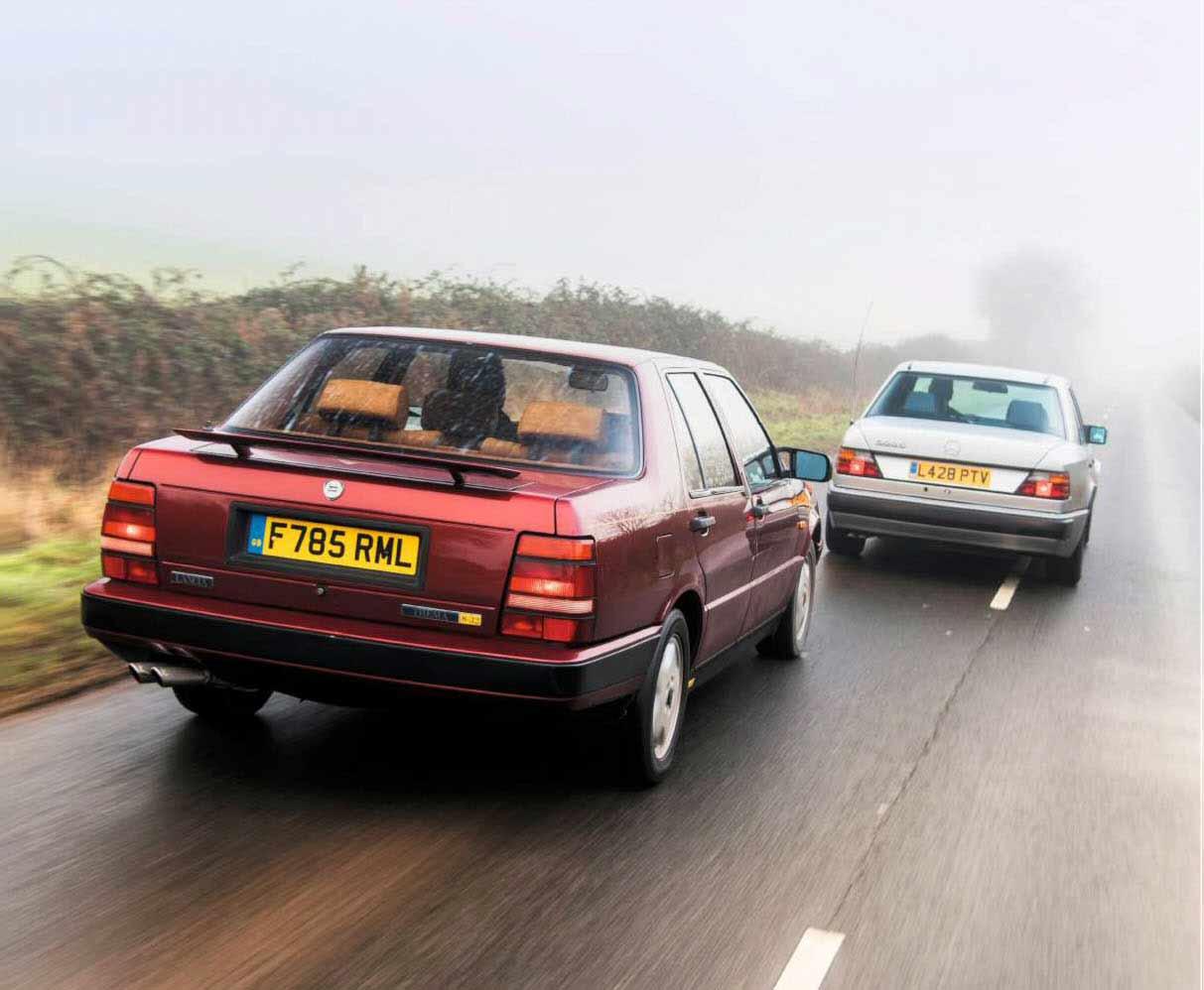 Lancia Thema 8.32 vs. Mercedes-Benz 500E W124