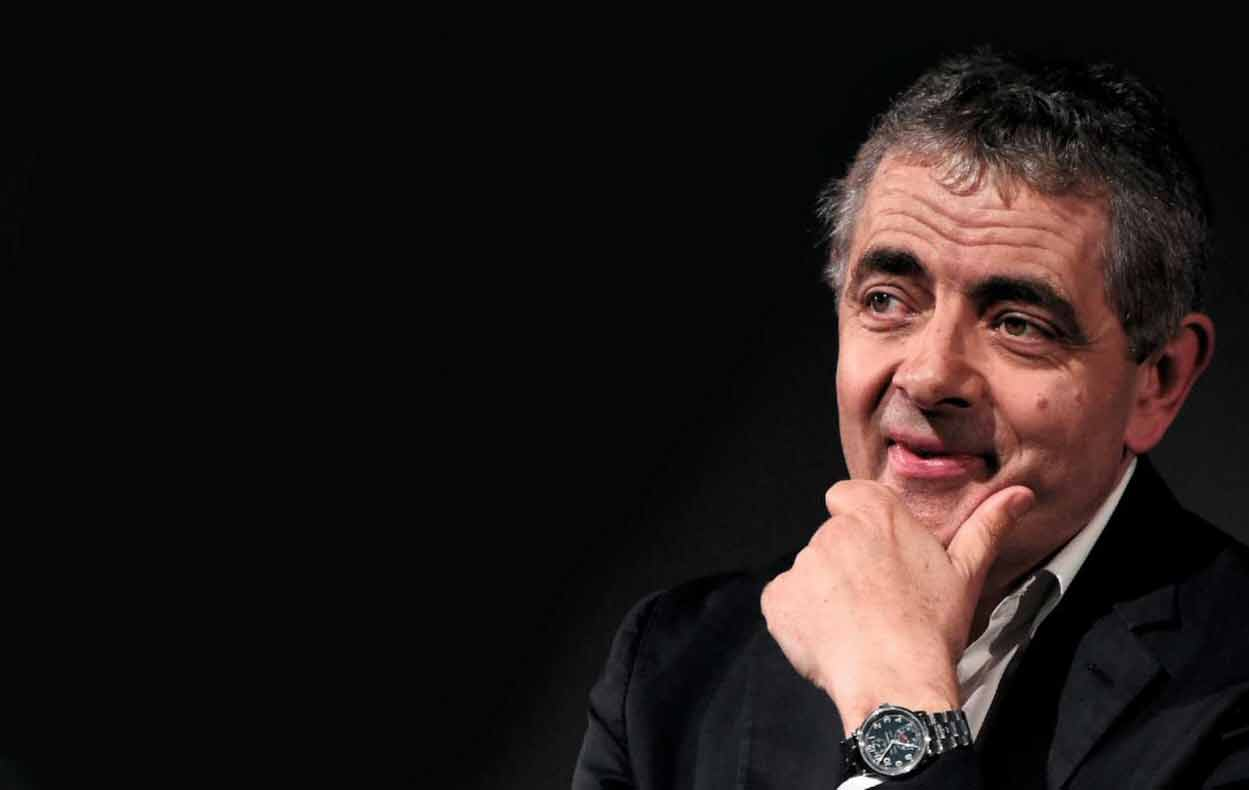 The owner Rowan Atkinson