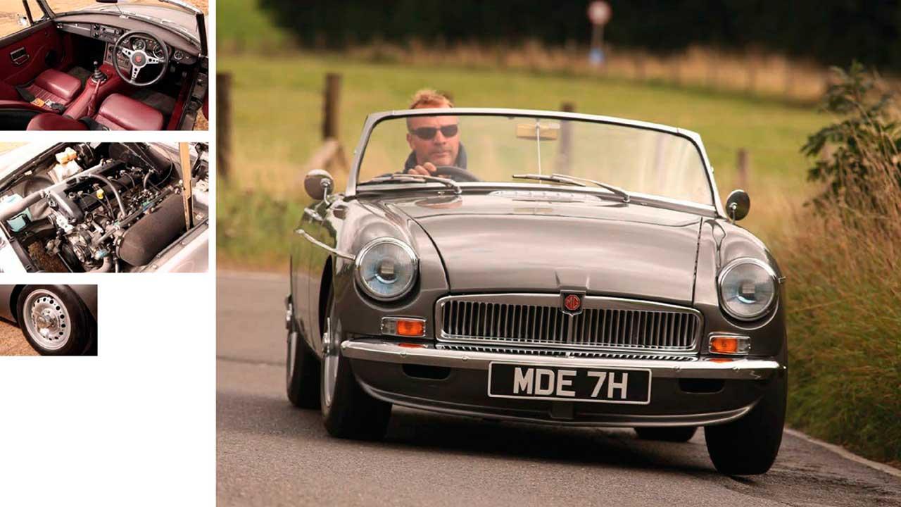 MGB Abingdon Edition driven