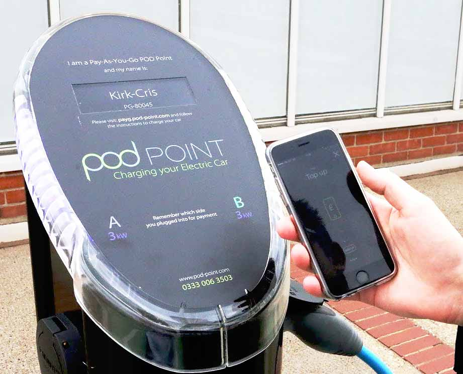 Southern Rail upgrades station car park charge points