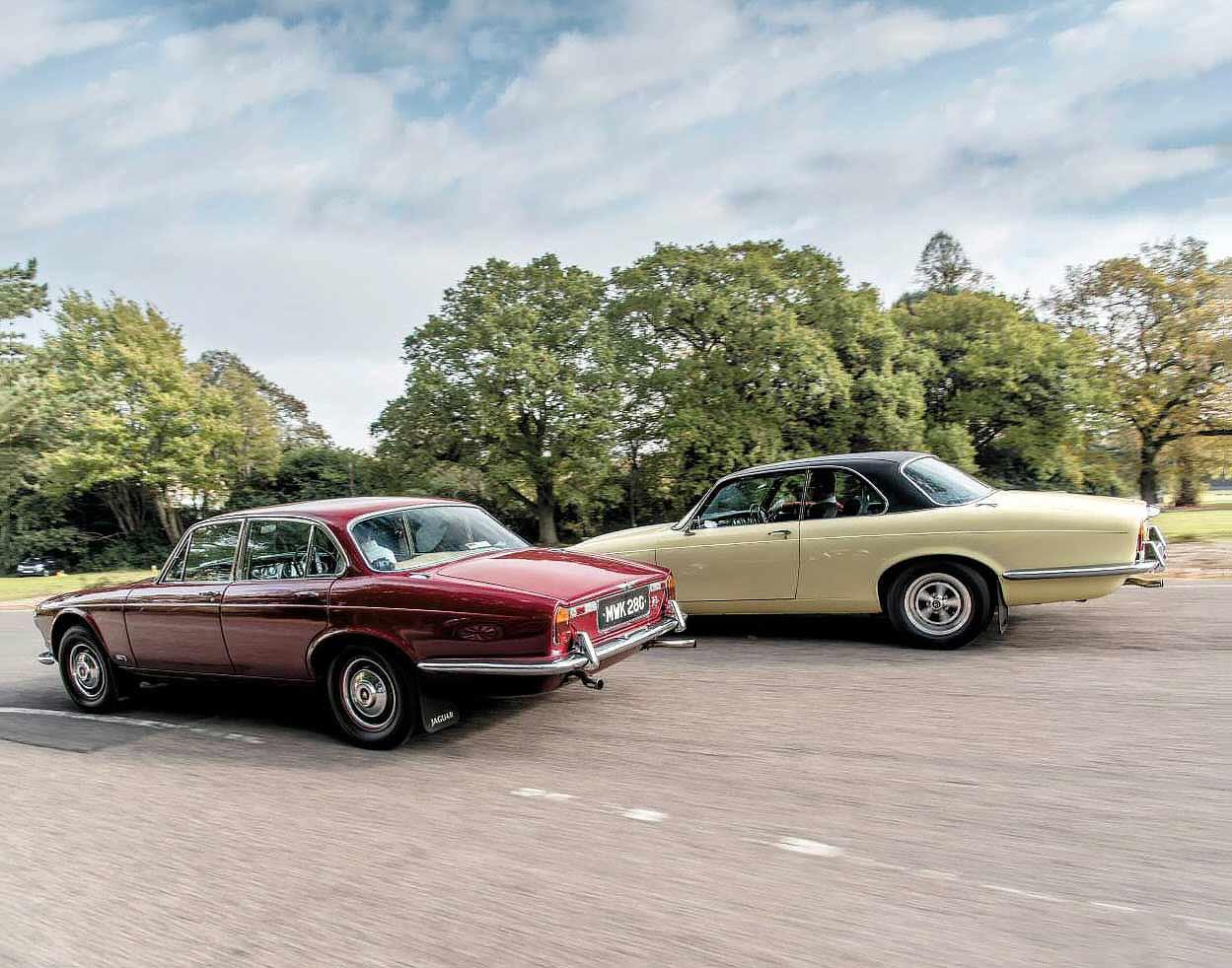 Jaguar XJ6 2.8 Series 1 and Daimler Sovereign Coupé