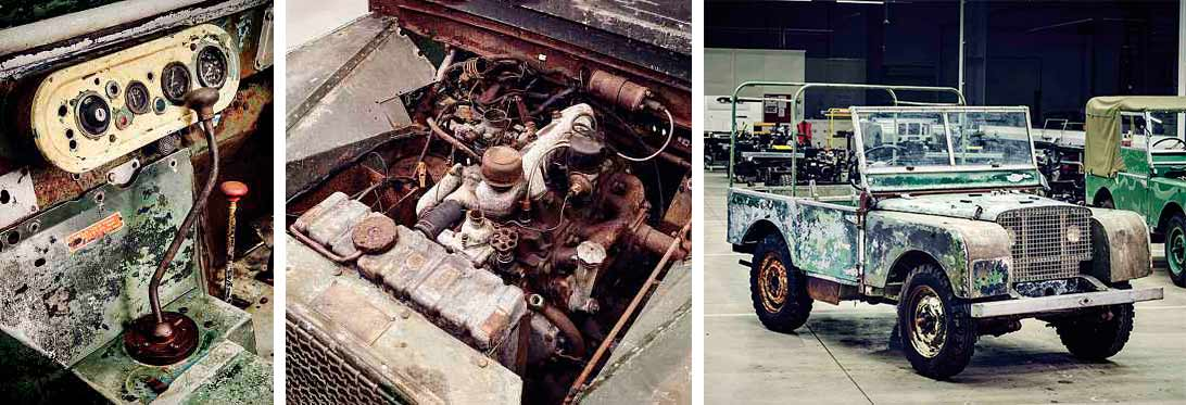 Land Rover to restore previously lost 1948 show vehicle