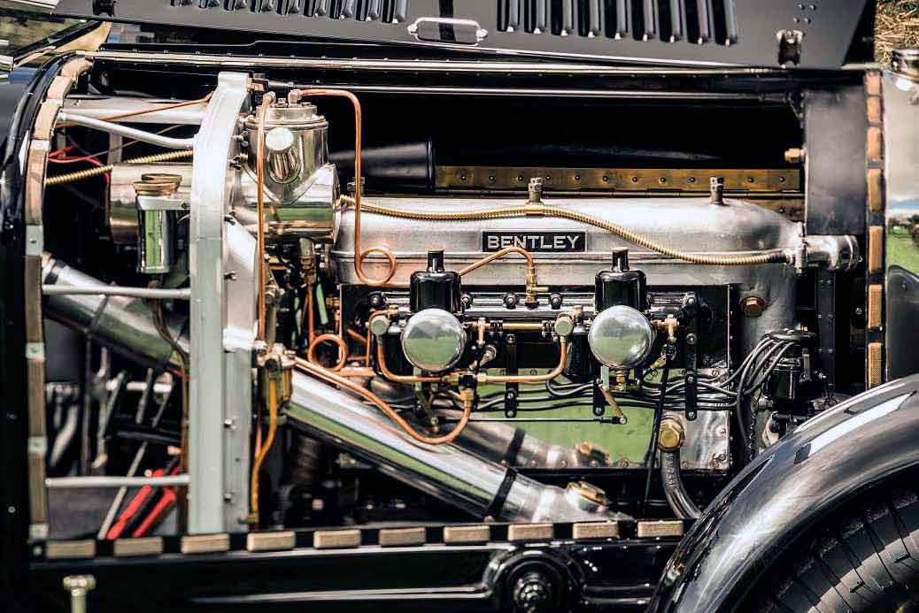 1926 Bentley 3/5.3 Litre engine