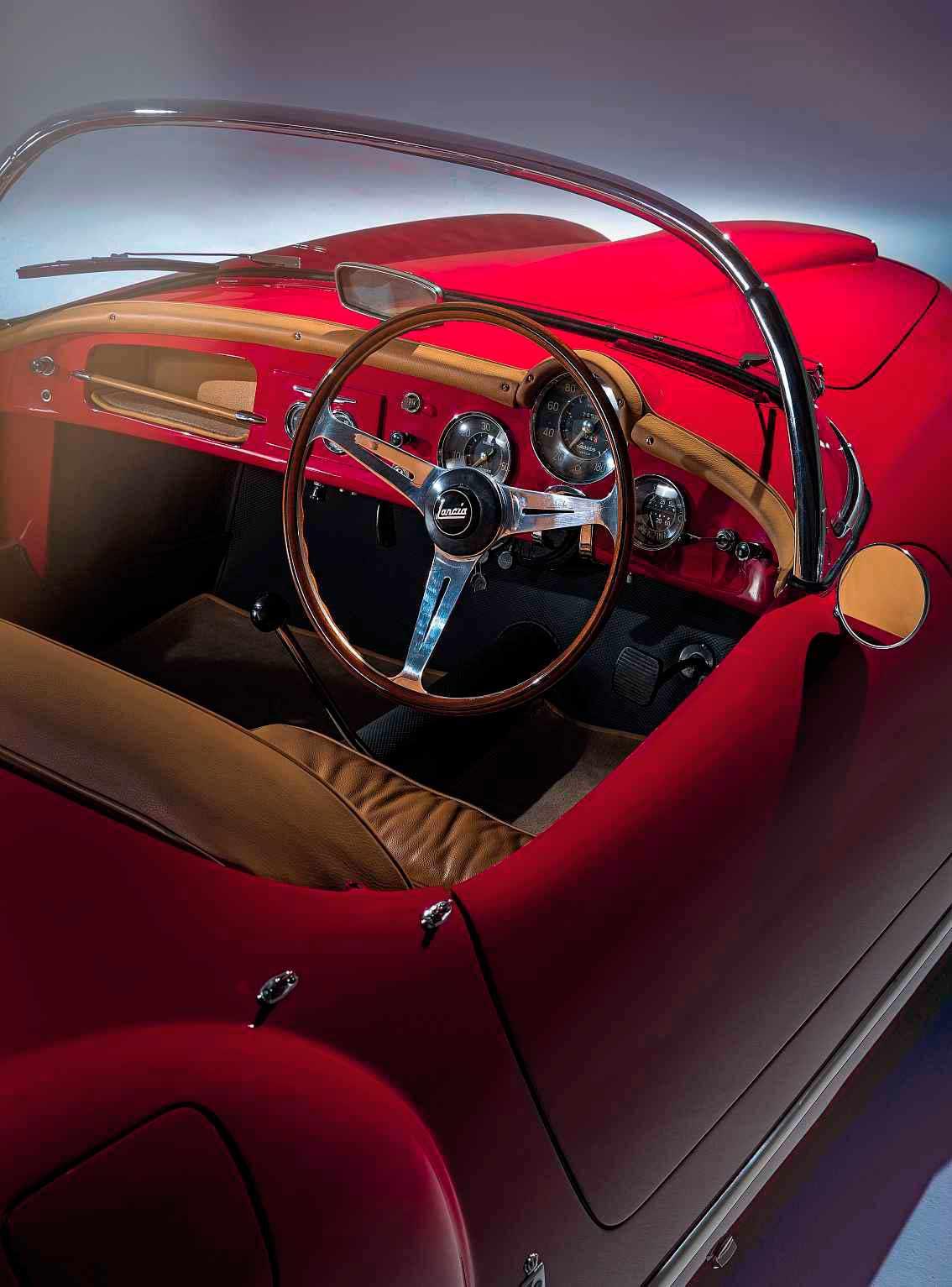 1955 Lancia Aurelia B24 America interior