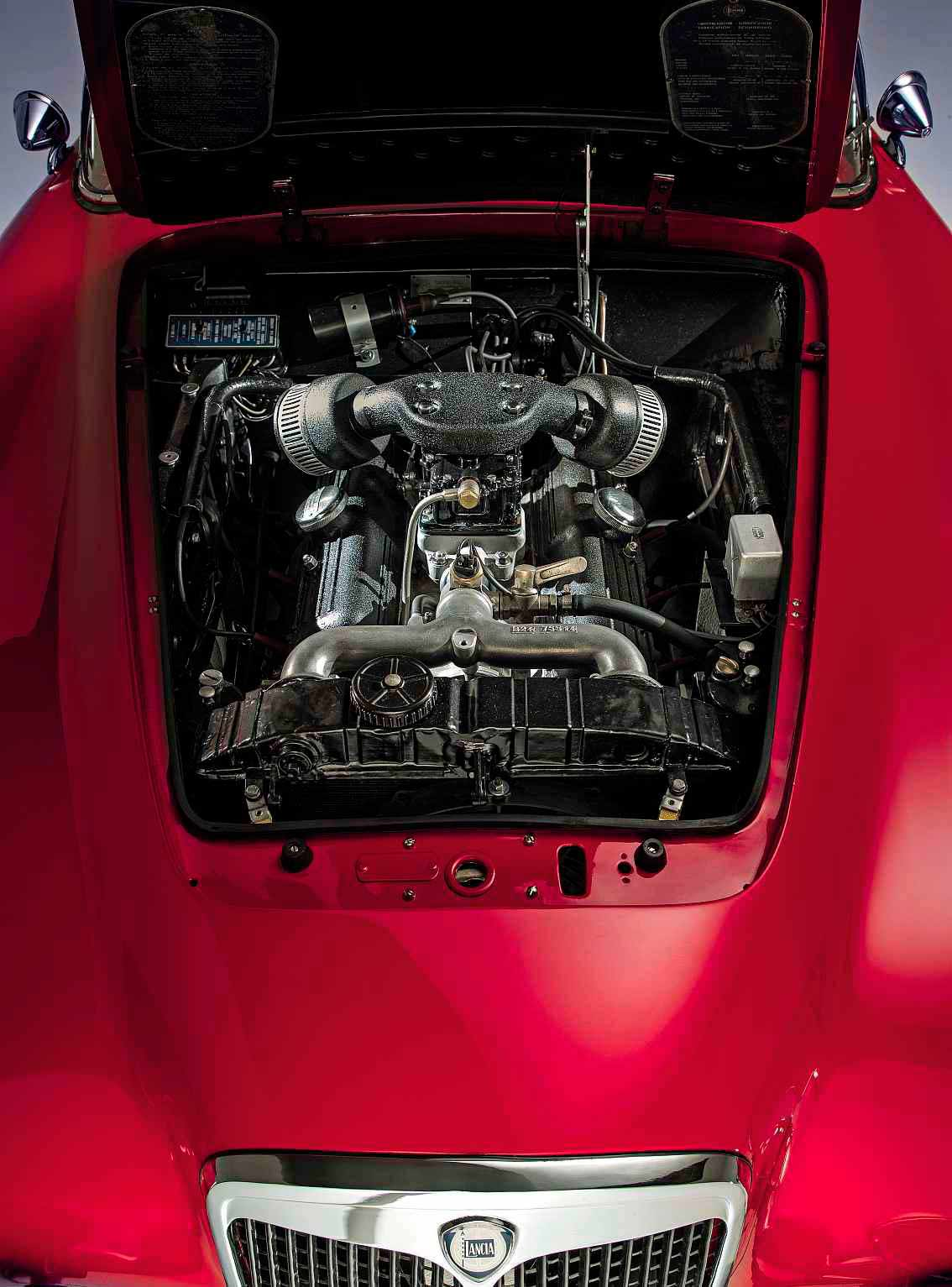 1955 Lancia Aurelia B24 America engine V6