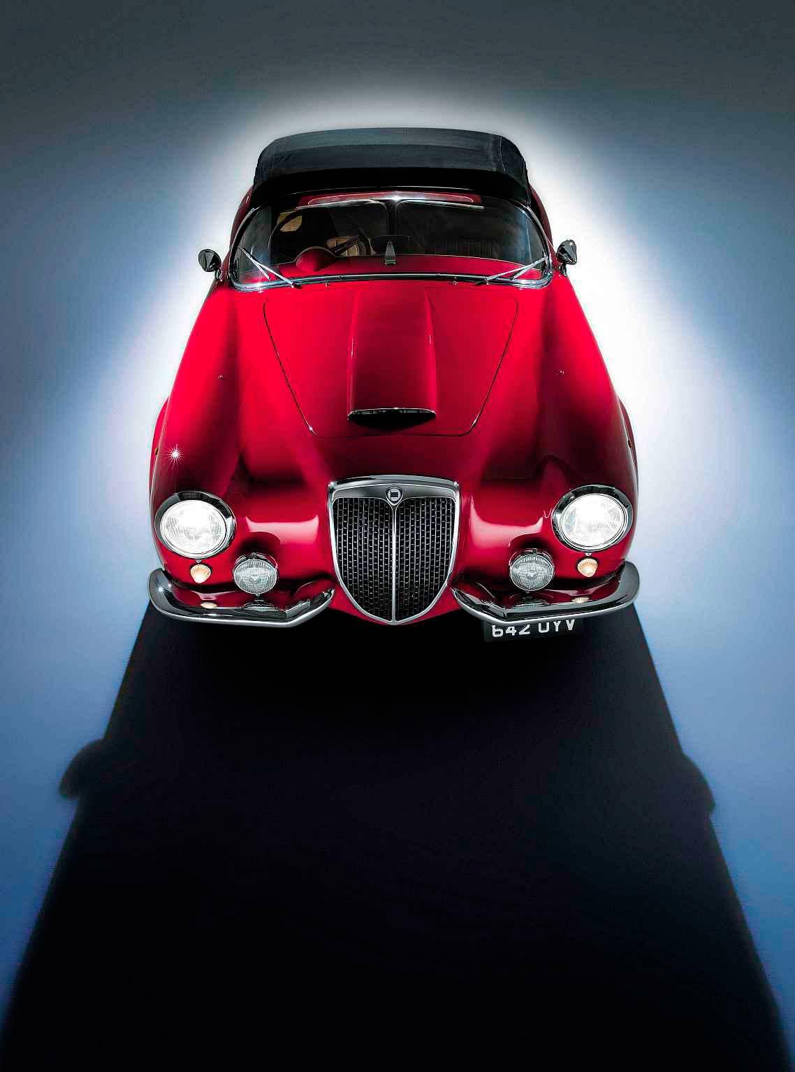 1955 Lancia Aurelia B24 America front
