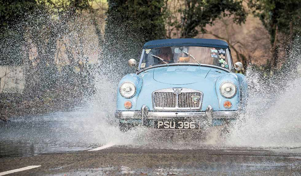 1961 MGA 1600 MkII Roadster road test