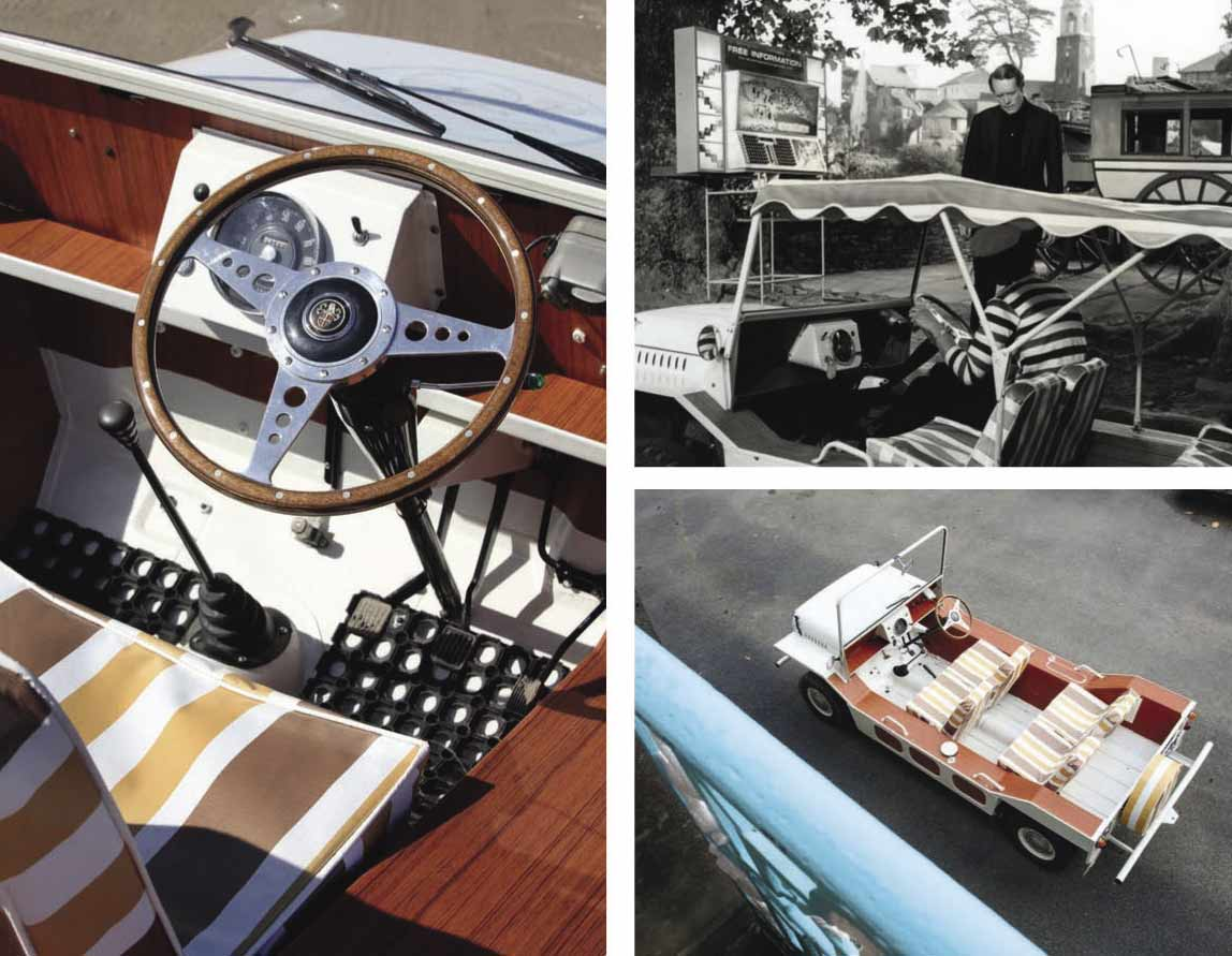 1966 Austin Mini Moke W&P Taxi ride back to the Prisoner
