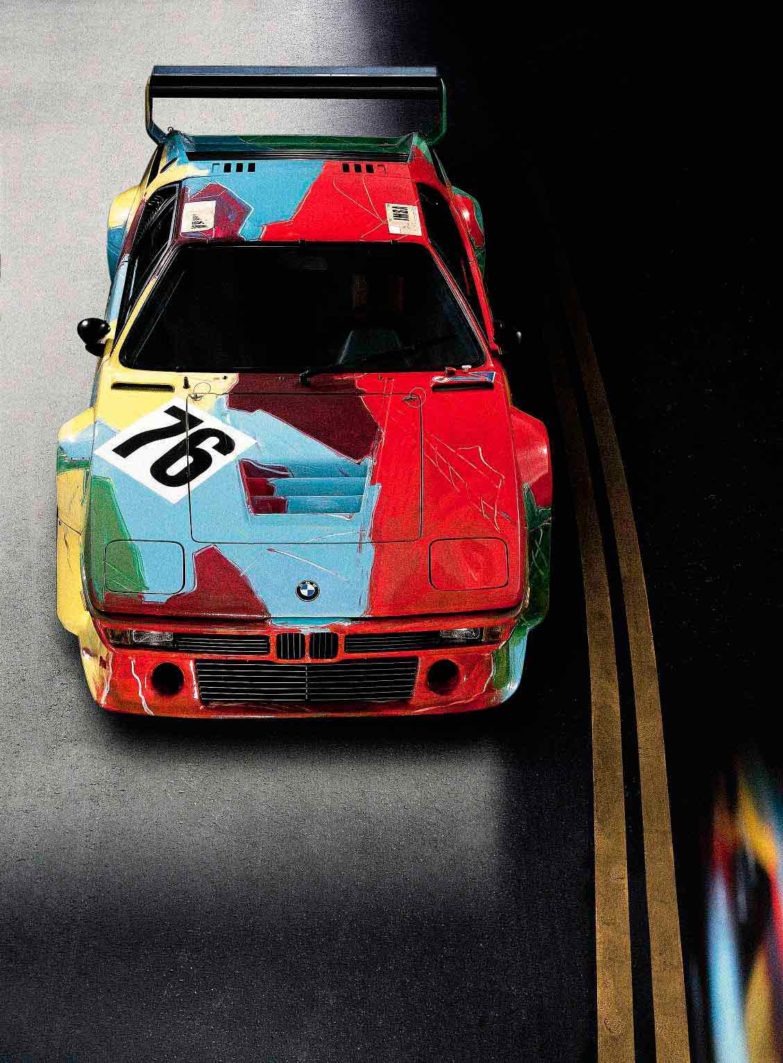 BMW M1 E26 Art Car