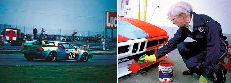 Andy Warhol Art Car