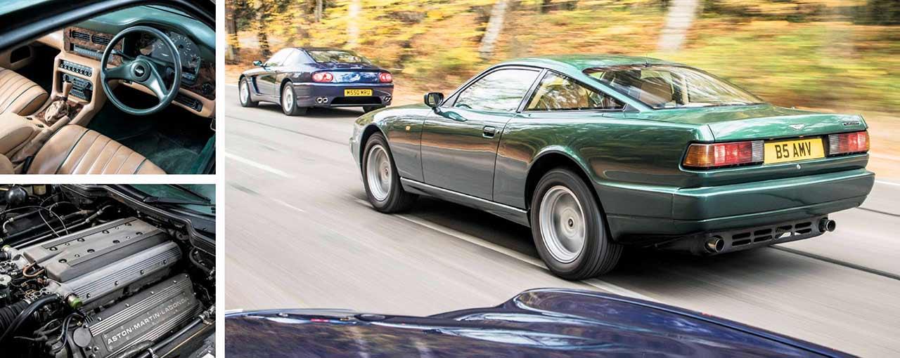 1990 Aston Martin Virage road test