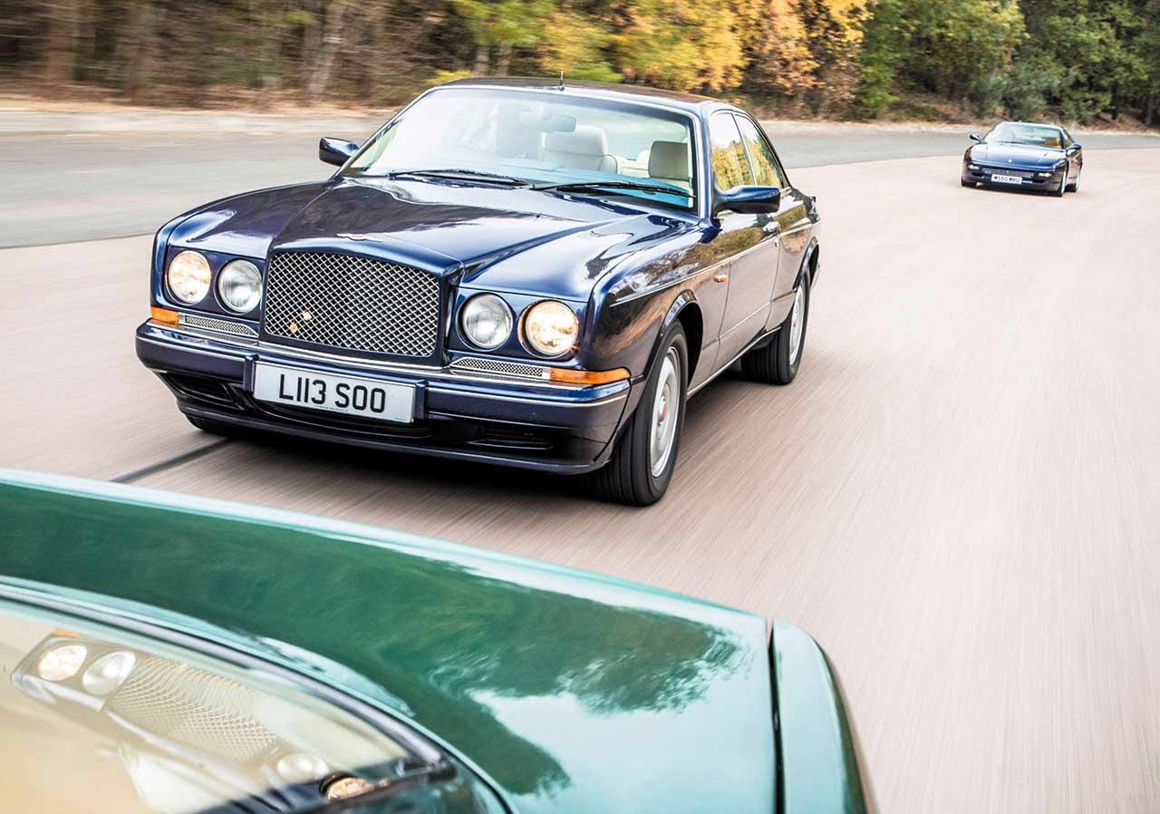 1993 Bentley Continental R road test