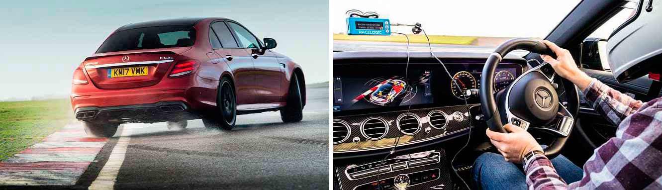 2018 Mercedes-AMG E63 S W213 on track