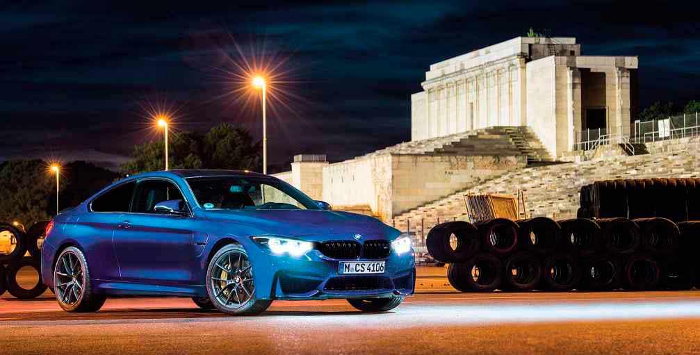 2018 BMW M4 Club Sport F82