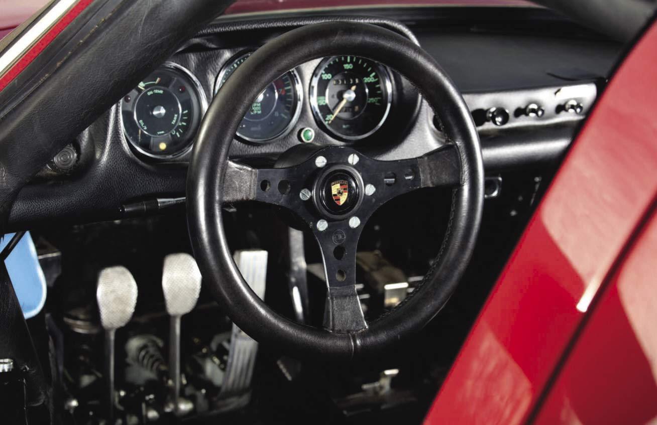 1964 Porsche 904/6 interior
