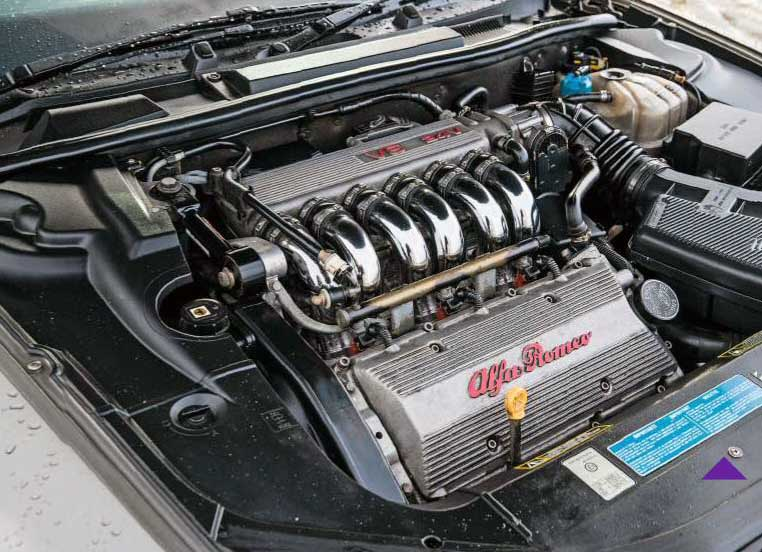 Alfa-Romeo 166 3.2 engine