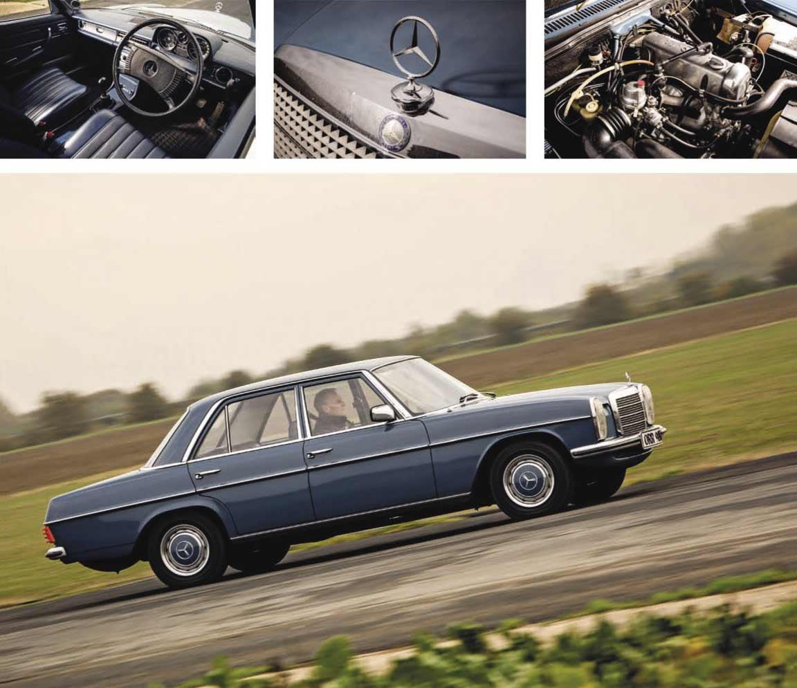 Mercedes-Benz 230/4 W115 road test