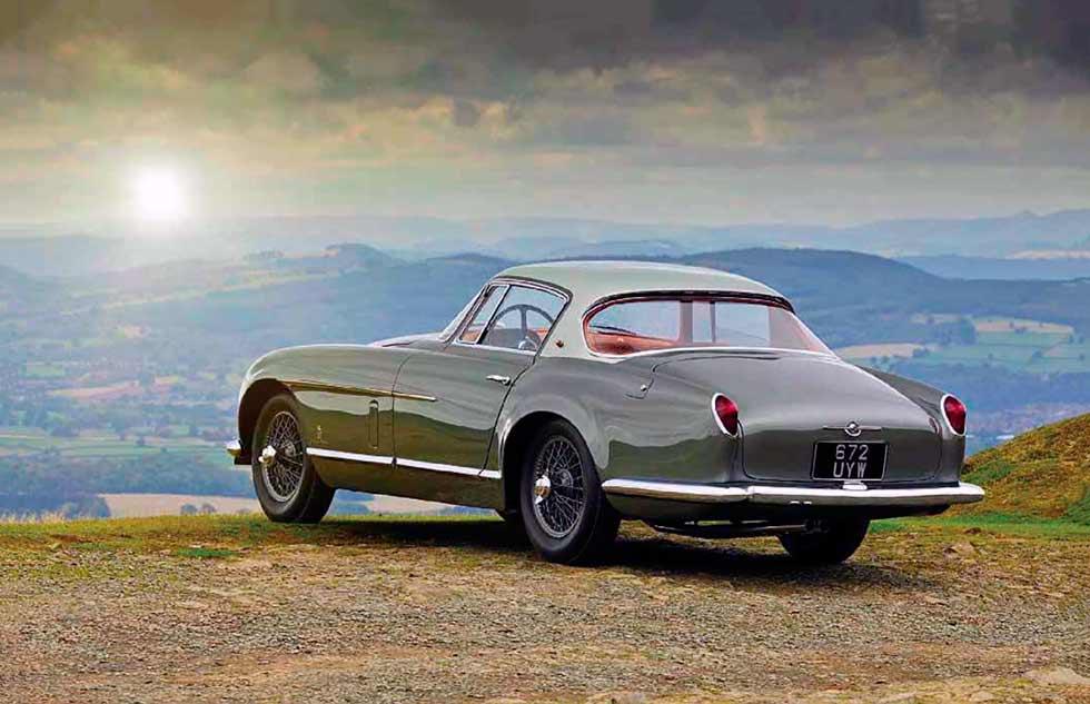 1954 Jaguar XK120 SE by Pinin Farina