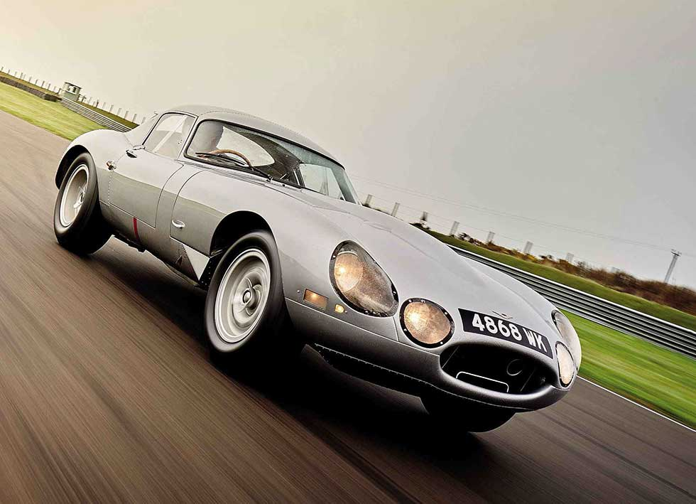 Lindner Nöcker 1963 Jaguar E-Type Lightweight Low-Drag Coupé