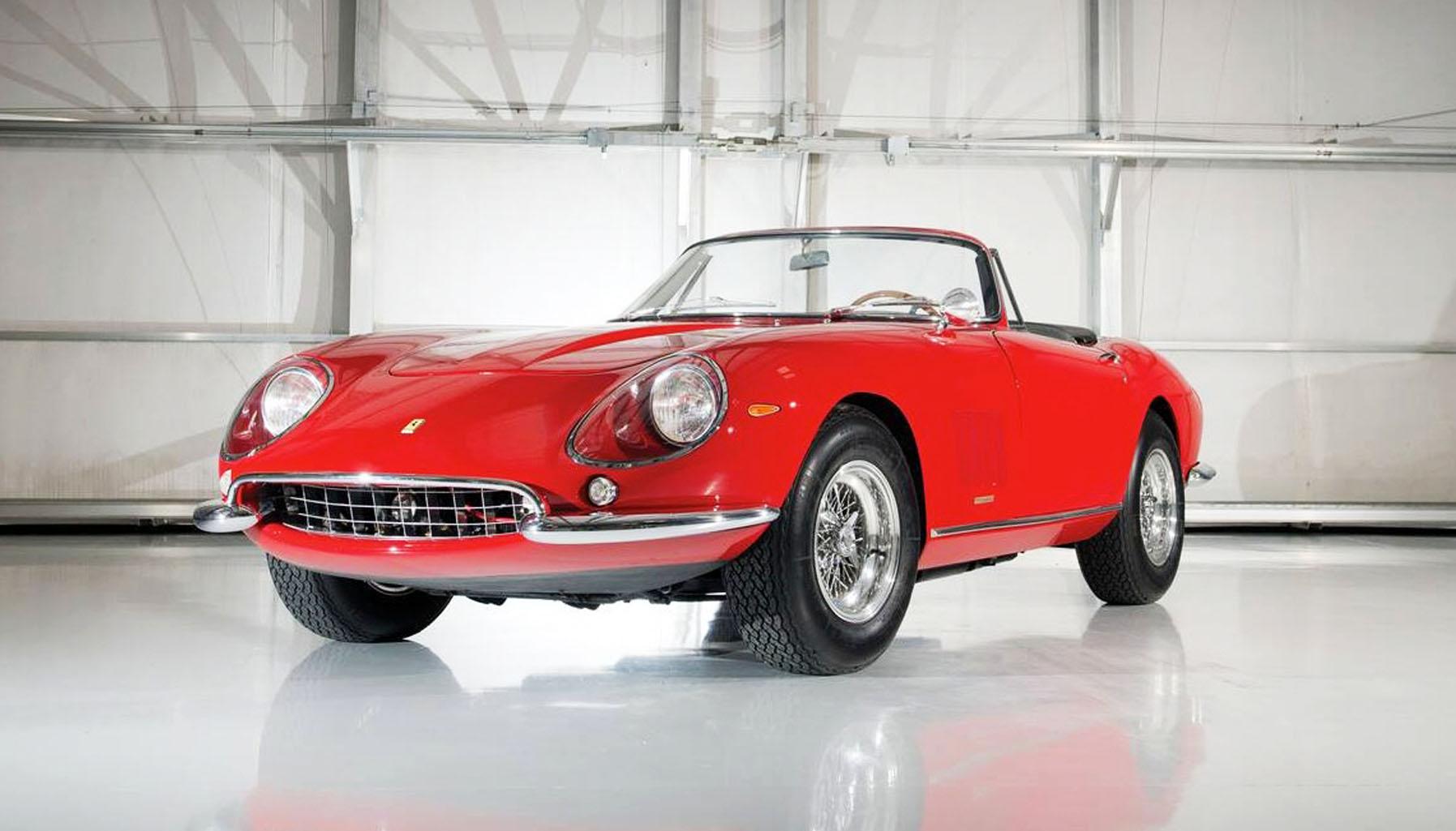 1967 Ferrari 275GTB/4 NART Spider chassis number 10709