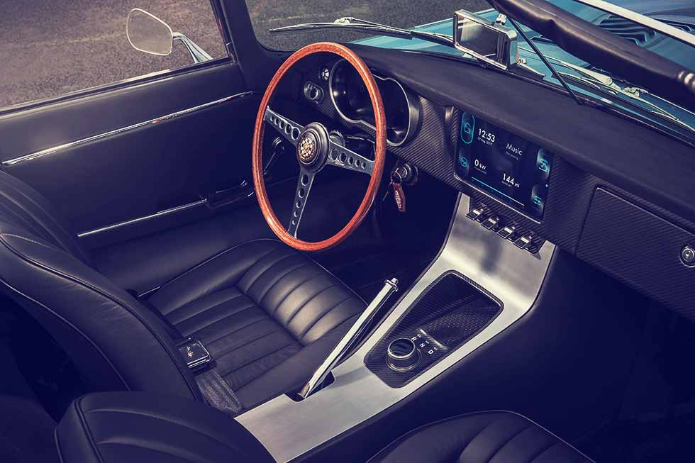 2018 Jaguar E-Type Zero interior