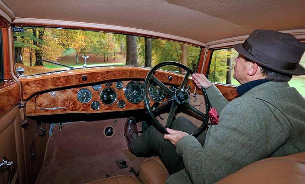 1933 Rolls-Royce Phantom II Continental Freestone and Webb Coupe built for Sir John Leigh