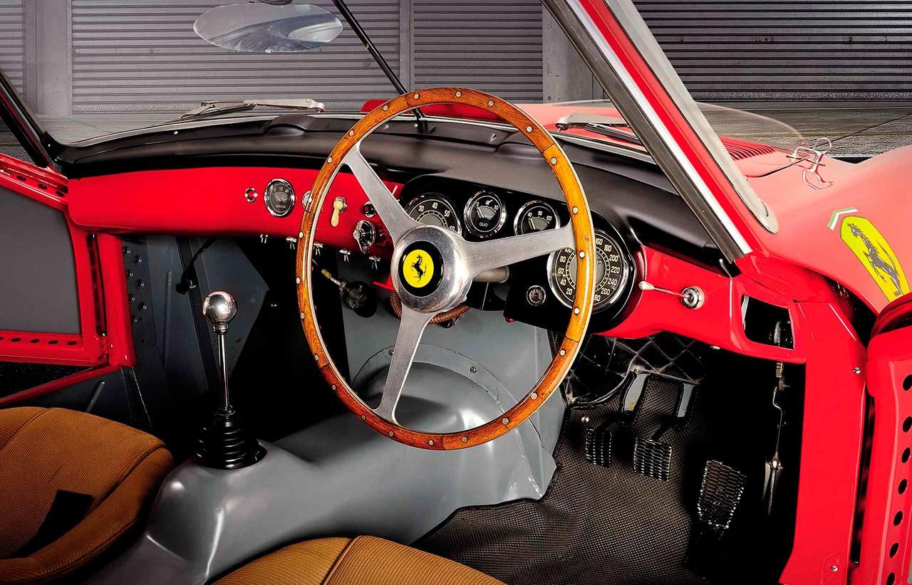 1953 Ferrari 375MM Berlinetta interior