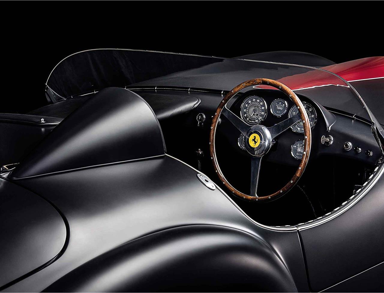 1953 Ferrari 166MM Barchetta interior