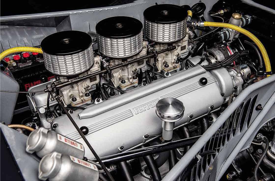 1953 Ferrari 166MM Barchetta engine