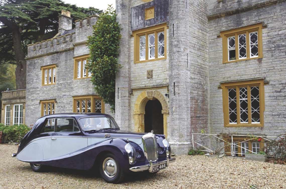 Hooper-bodied 1954 Daimler Dauphin
