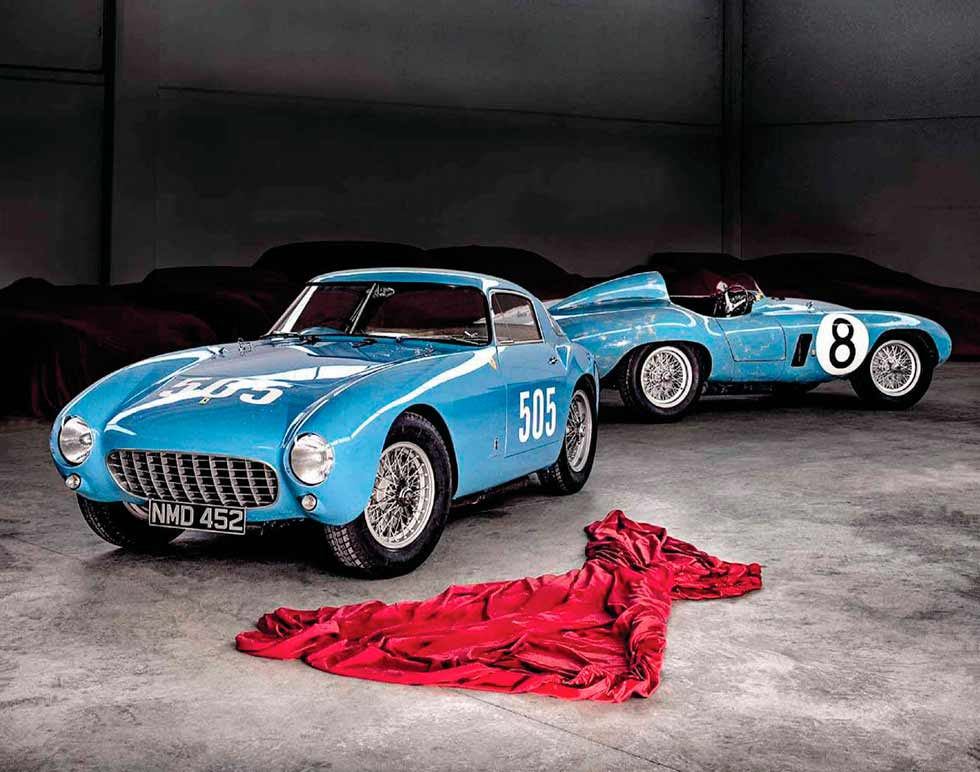 1954 Ferrari 500 Mondial Berlinetta and 1955 Ferrari 500 Mondial Spider