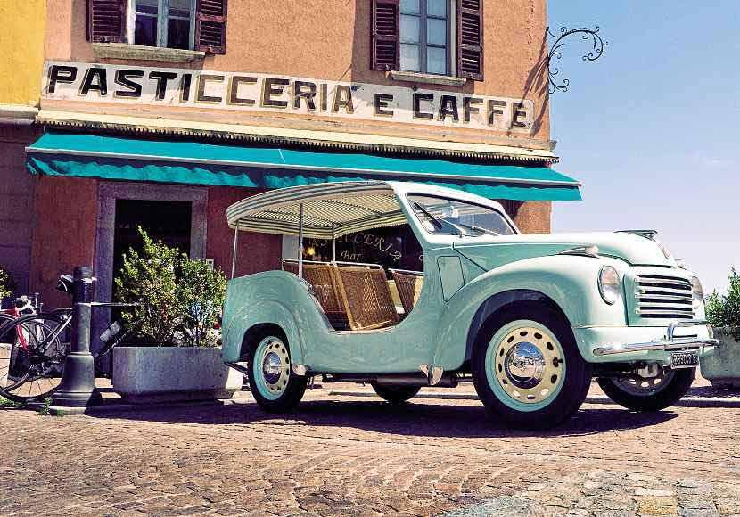 1954 Fiat 500C Belvedere Spiaggina