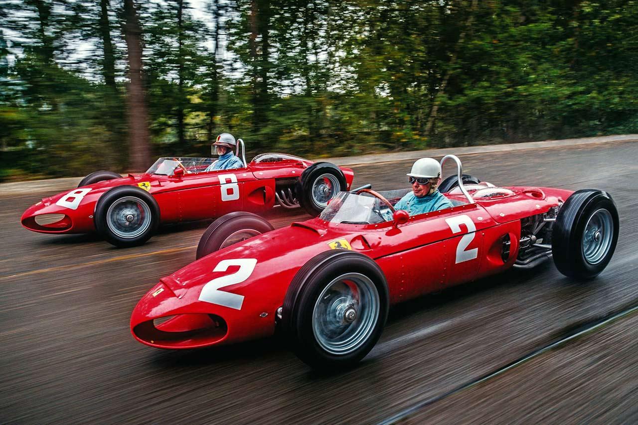 1961 Ferrari Tipo 156 driven