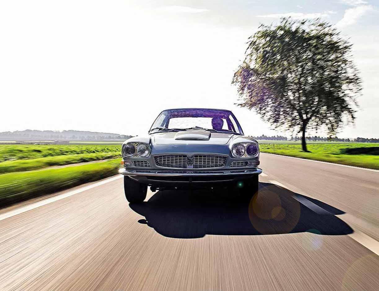 1967 Maserati Mexico by Frua unique show car, now restored and driven