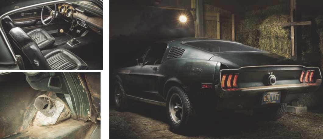 Bullitt 1968 original Ford Mustang