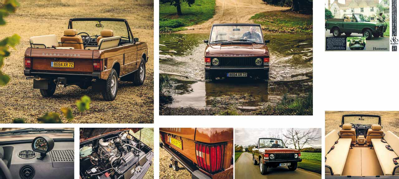1983 Octopussy Range Rover Convertible