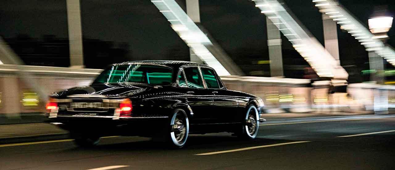 1972 Daimler Double Six road test