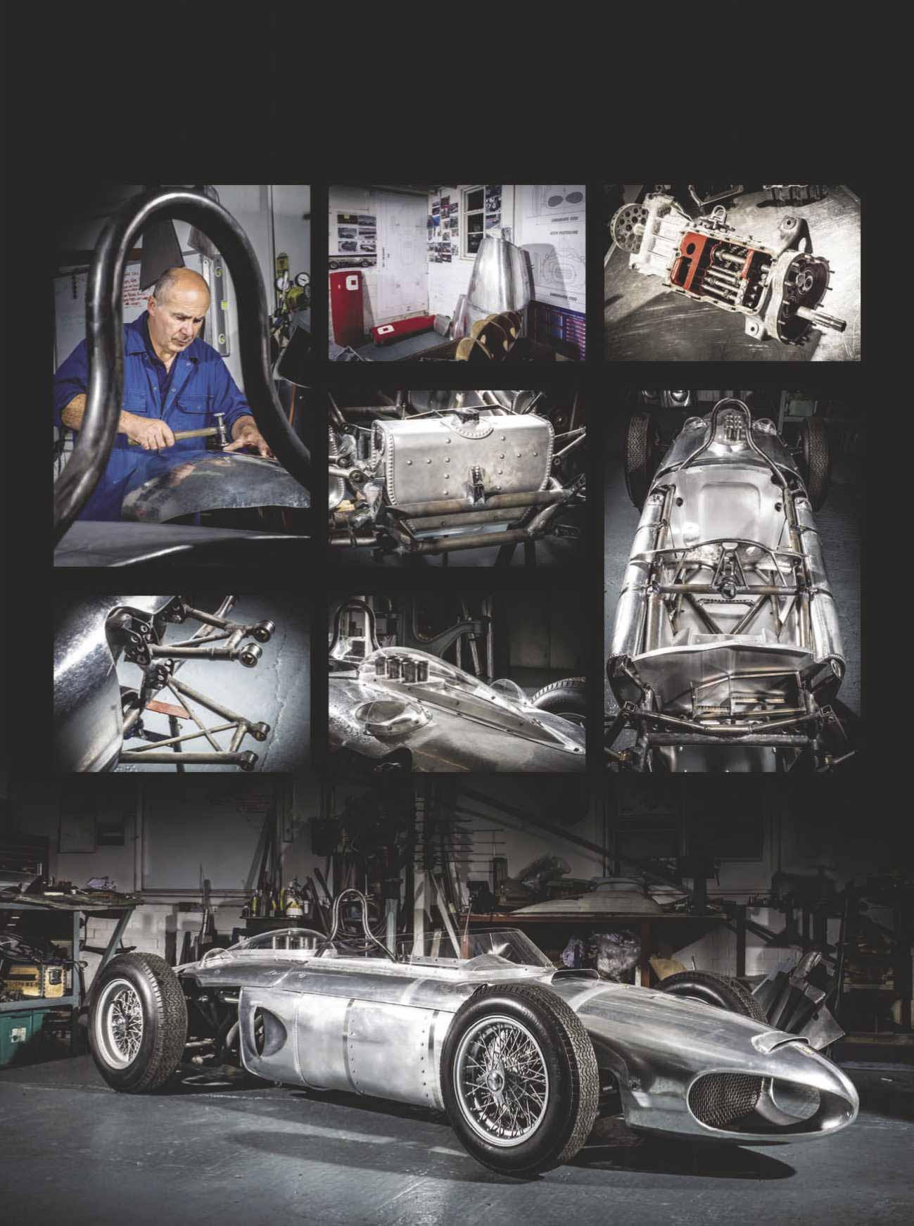 1961 Ferrari Tipo 156 restoration