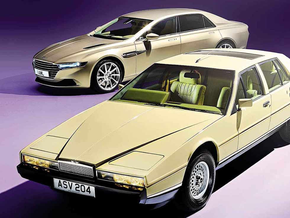 1984 Aston Martin Lagonda And 2016 Lagonda Taraf Drive