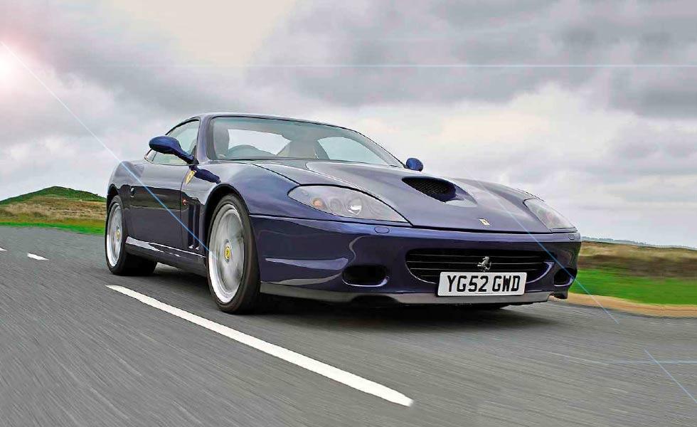 2002 Ferrari 575M road test