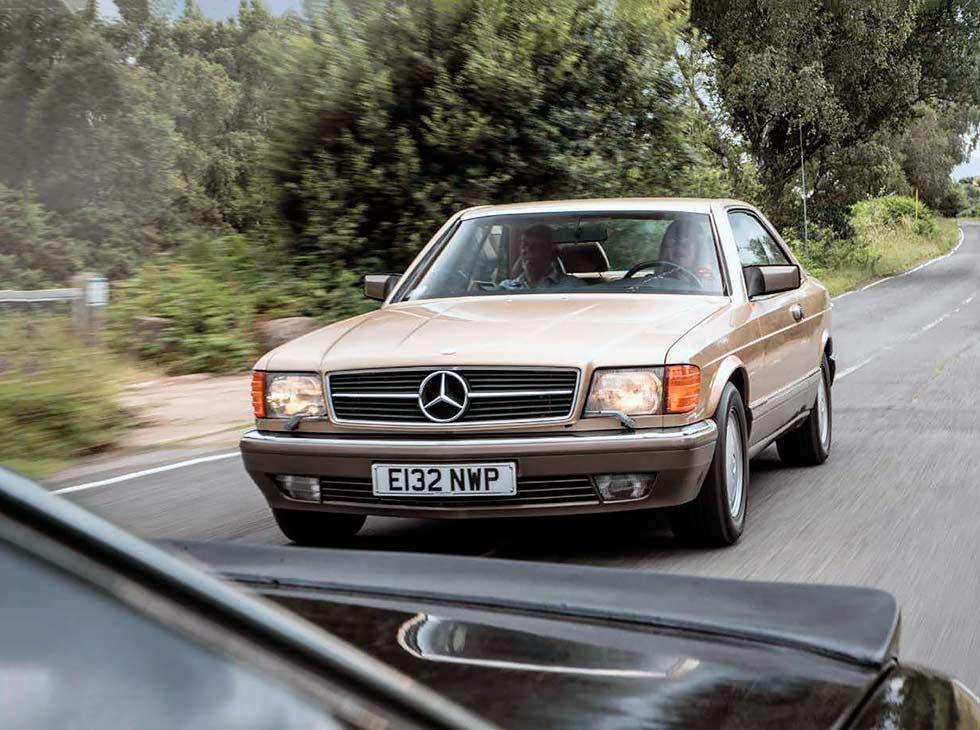 Mercedes-Benz C126 S-classe Coupe