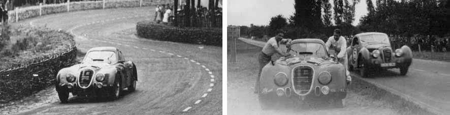 1938 Alfa Romeo 8C 2900 B Le Mans