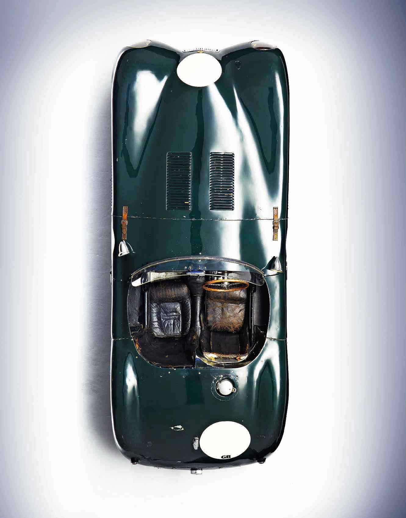 Stirling Moss and the 1953 Jaguar C-Type