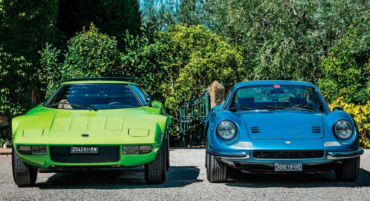 1976 Lancia Stratos HF vs. 1974 Ferrari Dino 246 GT