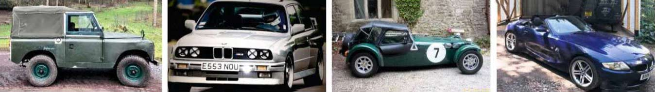 Piers Taylor's Car CV