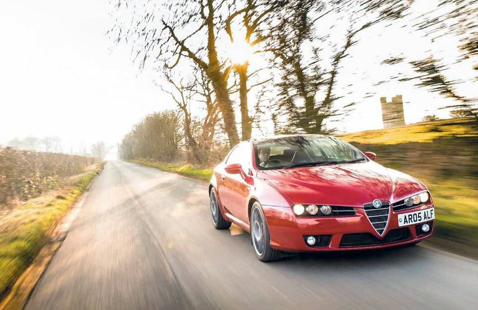 2008 Alfa Romeo Brera Prodrive S 3.2 road test