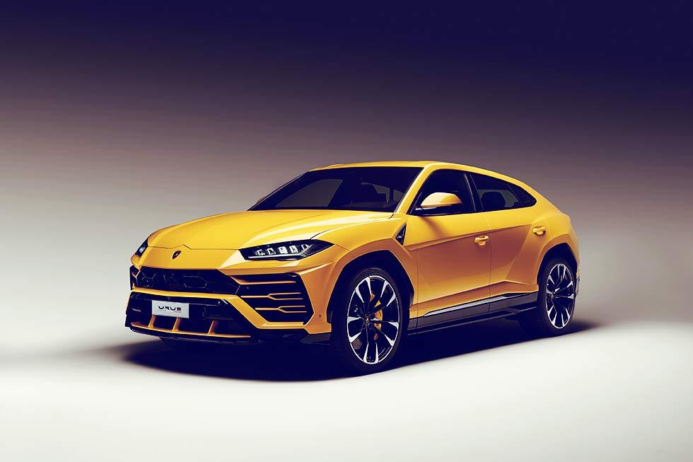 2019 Lamborghini Urus UK