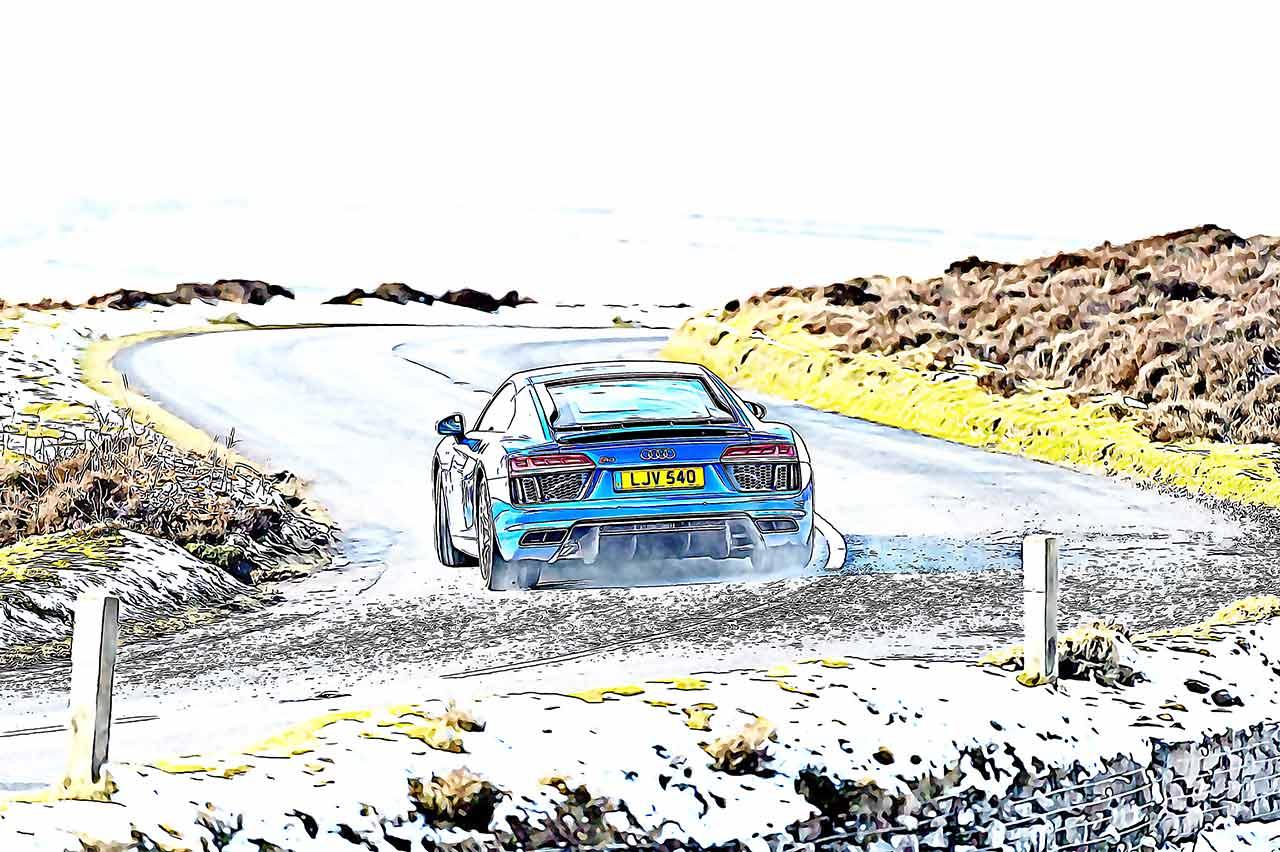 2019 Audi R8 V10 RWS 4S MkII Type FX road test